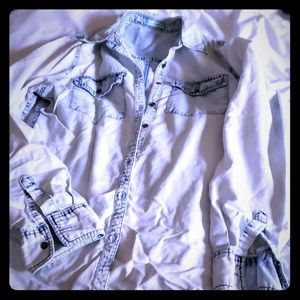 Maurices denim shirt